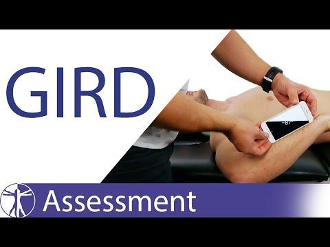 Glenohumeral Internal Rotation Deficit (GIRD)