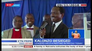 Ukambani leaders accused Kalonzo of poor leadership