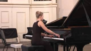 Bach Prelude and Fugue No. 10 in E minor, BWV 855, from  Well-tempered Clavier (Olga Vasilenko)