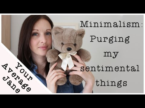 Minimalism how to get rid of sentimental clutter youtube for How to get rid of clutter