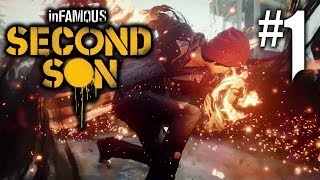 Infamous Second Son Playthrough 1 FR