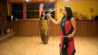12 step dandia with Vidya Nahar