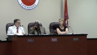 Manchester TN Board Of Mayor And Alderman Meeting 07 11 2017