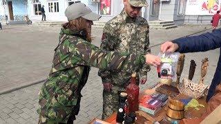 У Коломиї збирали кошти, щоб допомогти інтернату та пораненому в АТО