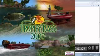 descargar bass pro shops trophy bass 2007