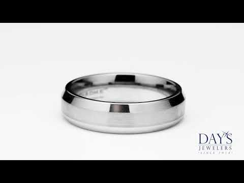 Benchmark Cobalt Chrome Wedding Band (6mm)
