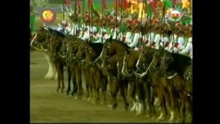 Oman Royal Cavalry Horse Show for Queen Elizabeth II by Sultan Qaboos - الخيـالة السلـطانية عمان