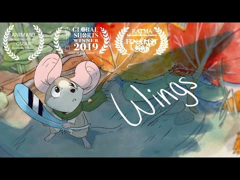 Wings   Animated Short Film   SVA Thesis