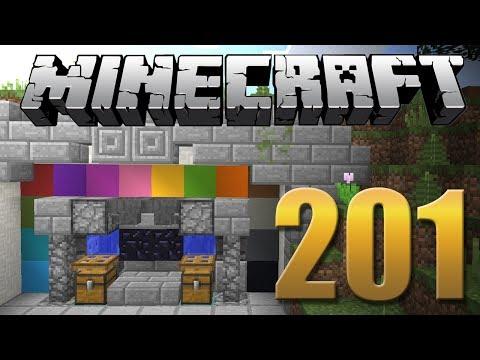 BETONEIRA PARA CONCRETO - Minecraft Em busca da casa automática #201