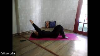 Aula Mat Pilates - Fabi Portella - 60 minutos