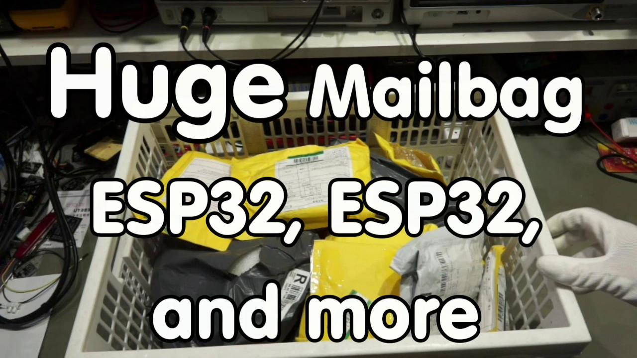 143 Huge Mailbag With Esp32 Boards Capacitive Led Switches Power 12v 038 5v Combo Supply Supplies And More