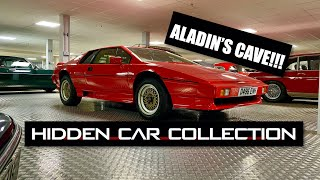 homepage tile video photo for Crazy Hidden Car Collection: Inside The Private Garage - Inside Lane