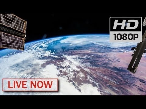 NASA Live Earth From Space HDVR ISS LIVE FEED - Live earth view through satellite