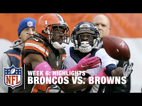 Broncos vs. Browns | Week 6 Highlights | NFL