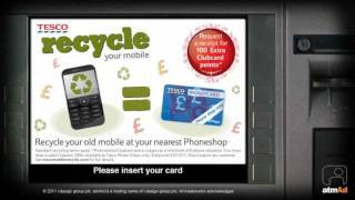 atmAd Tesco Mobile Recycling