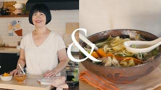 Andrea Nguyen Puts a Twist on Leftover Turkey Soup | F&W Cooks
