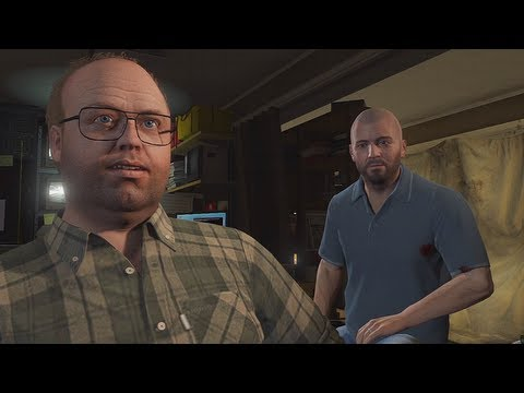 GTA 5 - Gameplay Walkthrough Part 8 - Friend Request (Grand Theft Auto V)