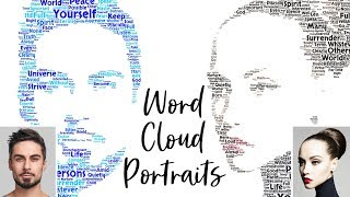 Photoshop: so Erstellen Sie Word-Cloud-Text-Portrait-Designs