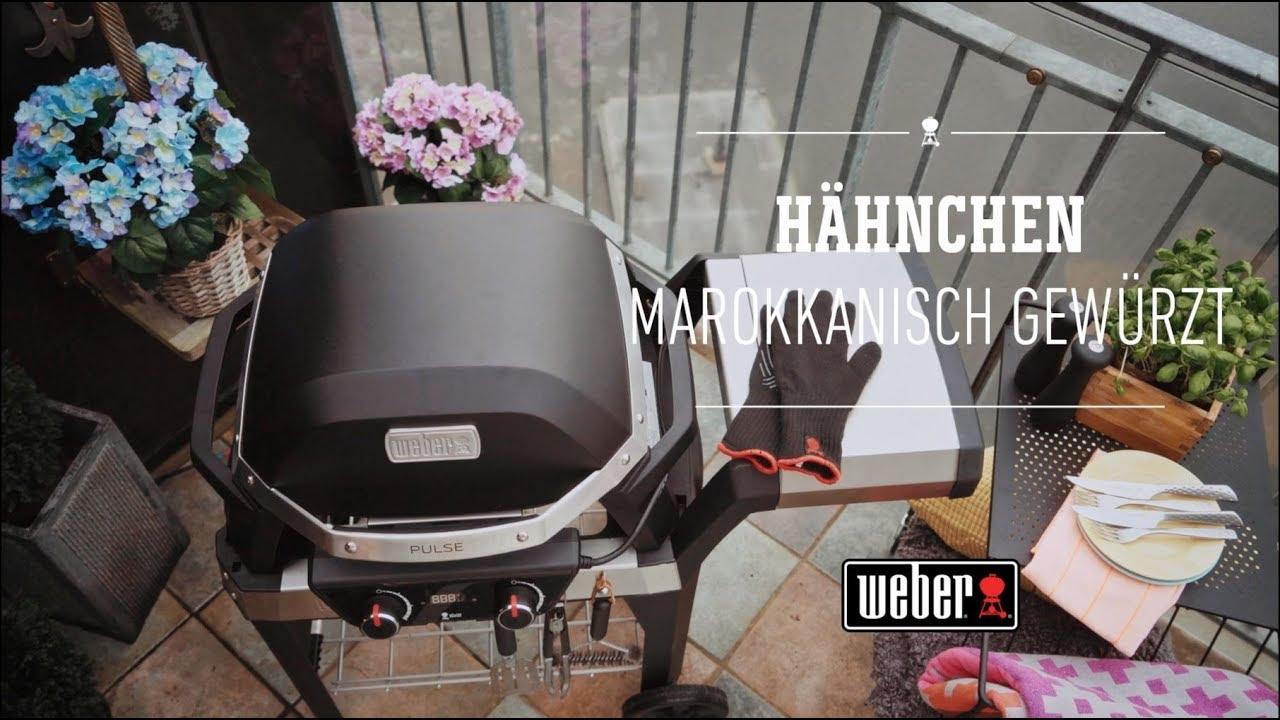 Weber Elektrogrill Pulse Preisvergleich : Weber stephen grill pulse hähnchen marokkanisch gewürzt youtube