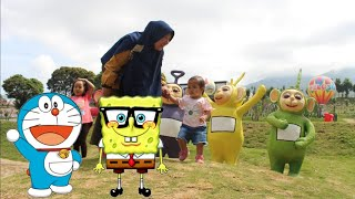 WOW Ada Doraemon, Spongebob & Teletubbies - Taman Celosia Happy Fun Kids