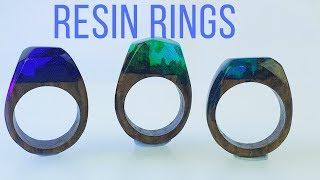 Royal Palm Resin rings