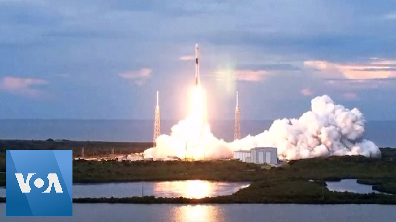 SpaceX Successfully Launches 3 Satellites - VOA News