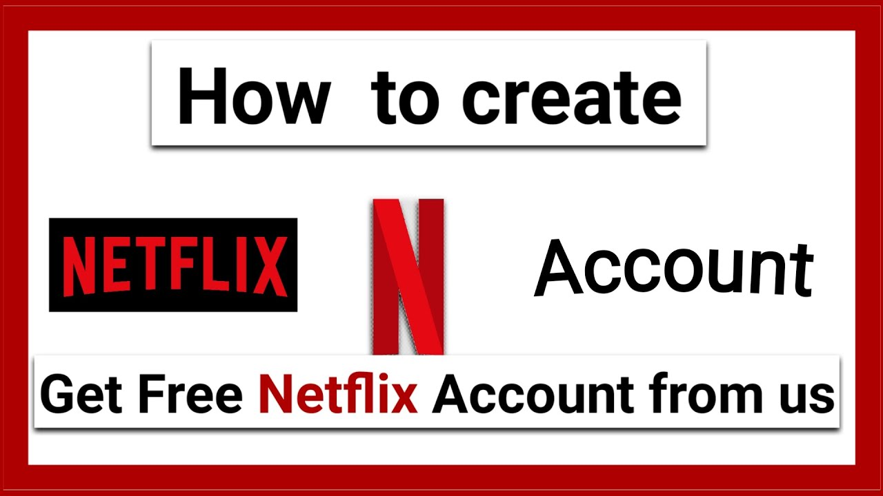 Download How to create a premium Netflex account . Get One from us frii. ( GIVE AWAY )