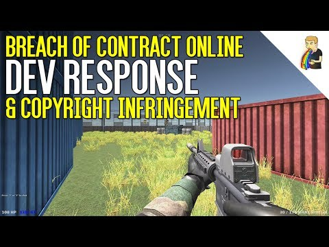 Breach of Contract Online Developer Reaction & Copyright Infringements