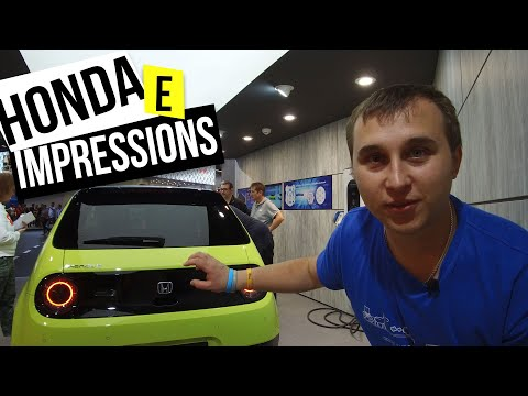 First Impression Inside Honda E Overpriced Or Perfectly Designed