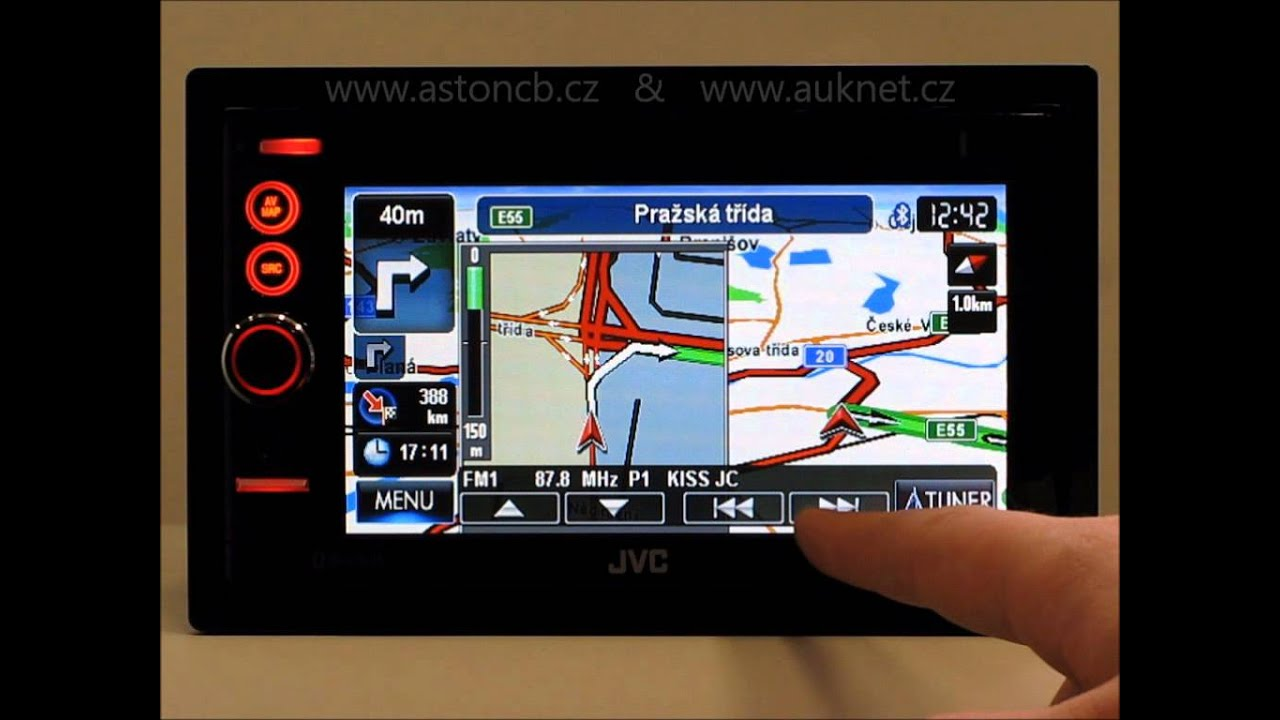 JVC KW-NT3 Car Navigation Treiber Windows XP