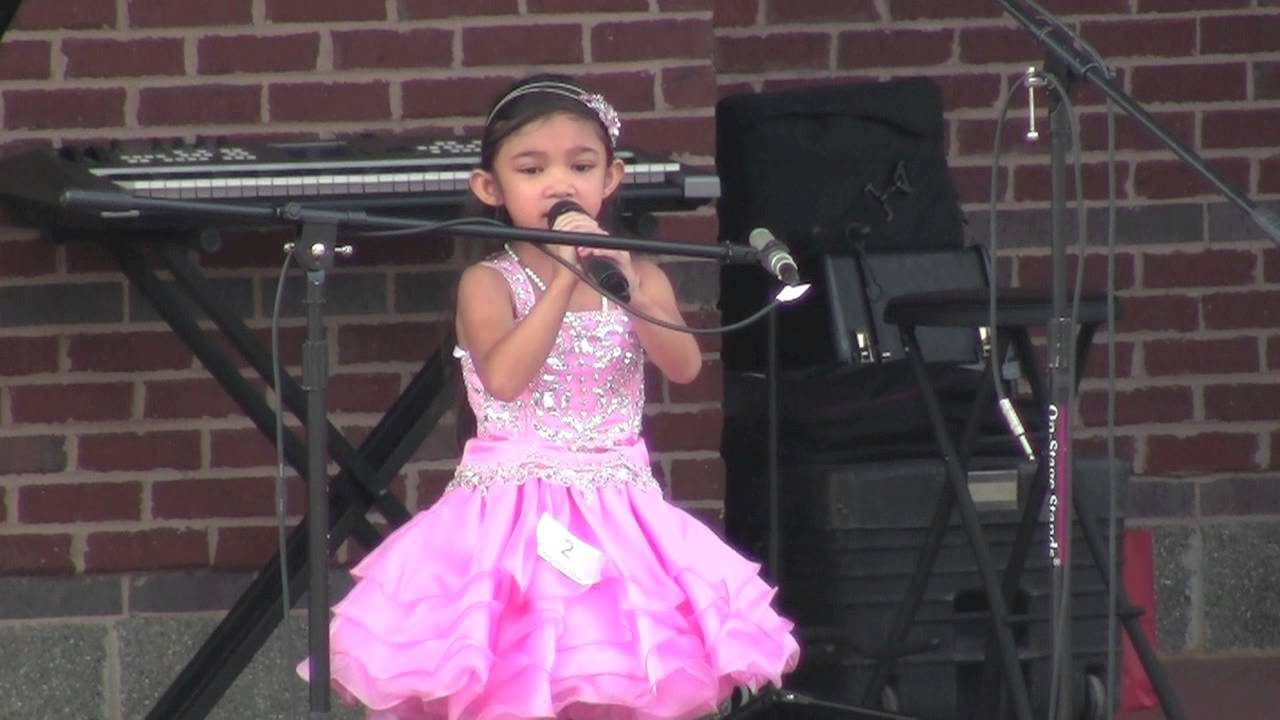 Talented 5 Year Old Wins Singing Competition - Reflection ...