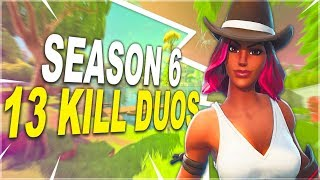 SEASON 6 | HIGH KILL DUOS | CALAMITY SKIN | CONSOLE GAMEPLAY - (Fortnite Battle Royale)