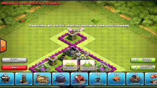 Clash Of Clans - TH5 Hybrid Base - Speed Build 2014
