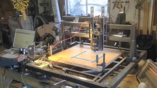 How to: DIY Arduino CNC Router Cutter Welder (Part 5: Router, GRBL Settings and EASEL Tutorial)