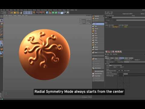 Cinema 4D R17 – Sculpting improvements