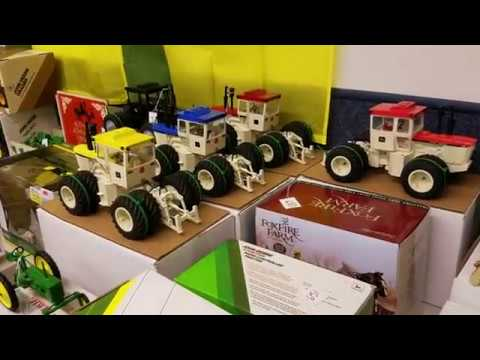 Large John Deere Memorabilia, Toy & Pedal Tractor Auction 3/10/17