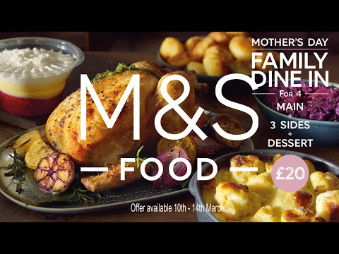 M&S Mother's Day 2021 Family Dine in for 4   M&S FOOD