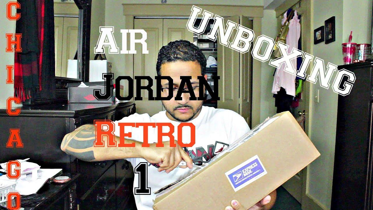 067cc1248efa8d Unboxing 2015 Air Jordan Retro 1