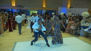 Amazing Congolese Wedding Entrance Dance