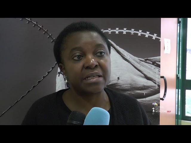 Festival della Migrazione 2017_INTERVISTA a Cecile Kyenge
