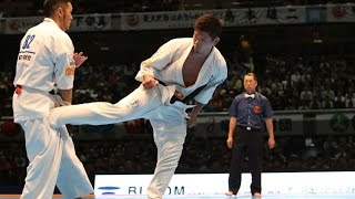 新極真会 The 11th World Karate Championship Men Final Kenbu Iriki Vs Yuji Shimamoto