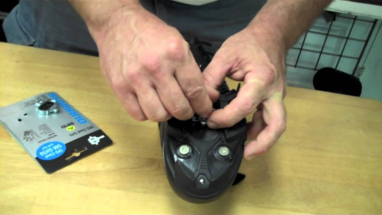 e5c56cf78e8 SPD spinning cleats - YouTube