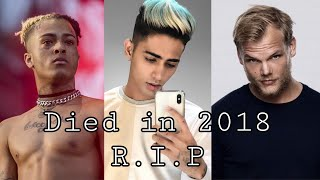 Top 10 famous celebrities who died in 2018 || New video || Must Watch