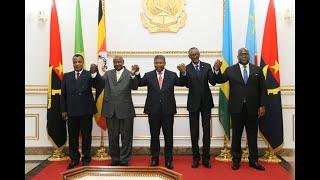 21/08/19 FÉLIX TSHISEKEDI RÉCONCILIE UGANGA-RWANDA EN ANGOLA.