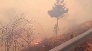 Έκτατκτο μεγάλη πυρκαγιά σε εξέλιξη στο Καρπενήσι.Συμβαίμνει τώρα!!!