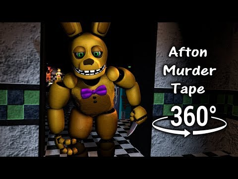 360°| Afton Murder Tape 1986 - Five Nights at Freddy's 2 [SFM] (VR Compatible)