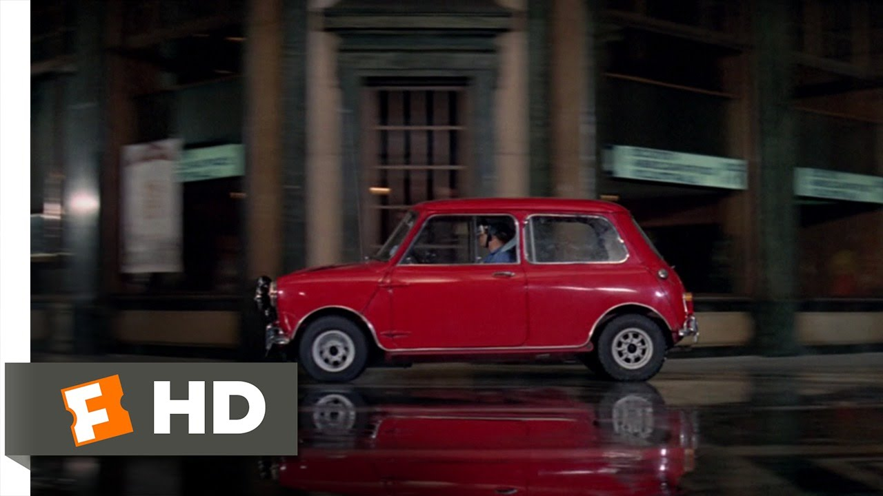 Mini Cooper Chase The Italian Job 610 Movie CLIP