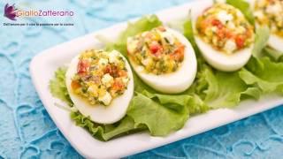 Stuffed eggs - summer recipe