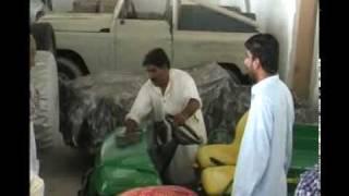 Shahdadkot mir nadir Khan magsi reached his banglow kamred