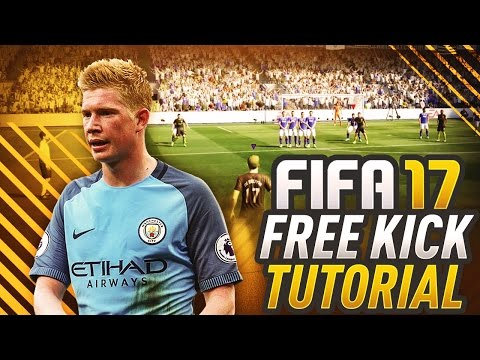 FIFA 17 FREE KICK TUTORIAL! HOW TO SCORE THE TRIVELA EASY! THE ROBERTO CARLOS SPECIAL!  PS4 & XBOX